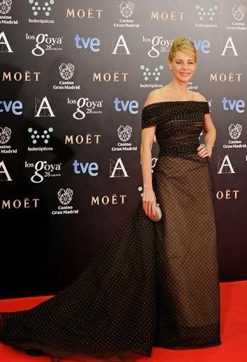 La alfombra roja de los Goya 2014