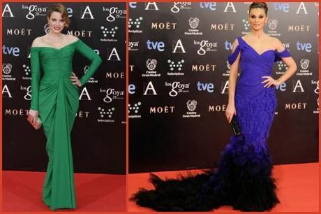[Moda en Serie] La 'Alfombra roja' de los Goya 2014