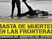 Concentración homenaje inmigrantes asesinados Ceuta
