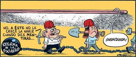 Esclavos modernos.Trabajar por techo y comida. ¡This is Spain!