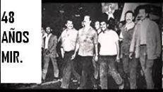 Joven Revolucionario Miguel Enríquez Espinosa. Años muerte combate.