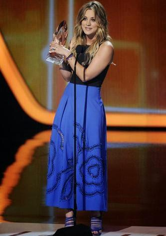 Kaley Cuoco People's Choice Awards 2014