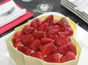 Tarta chocolate blanco para Valentín