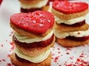 Tentación dulce Valentín galleta coco, mascarpone fresa