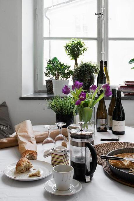 Cocinas blancas peque as y modernas paperblog - Cocinas blancas pequenas ...