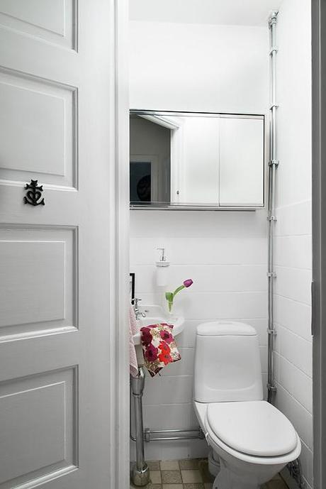 Cocinas blancas peque as y modernas paperblog for Cocinas bonitas blancas