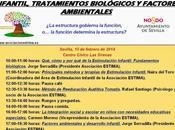 Introducción terapias estimulación infantil, factores ambientales tratamientos biológicos