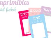 Imprimibles románticos para Valentín especial