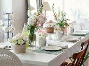 Ideas Deco: mezcla estilos consigue bonita mesa para Valentín