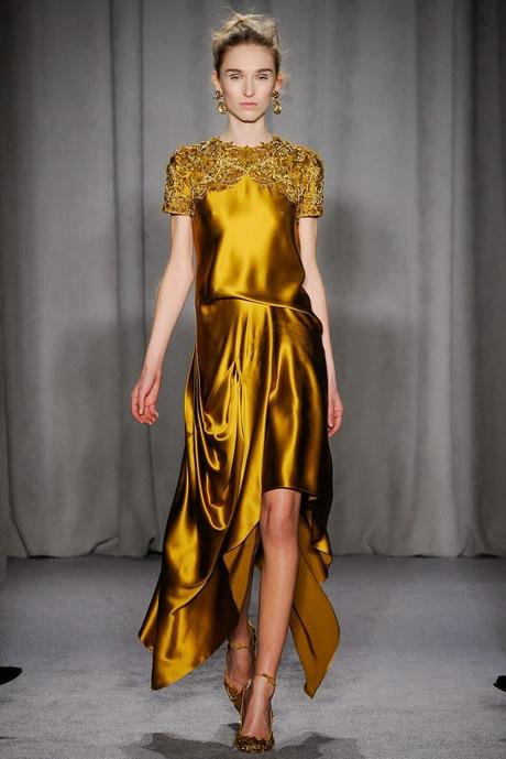 NEW YORK FASHION WEEK MARCHESA
