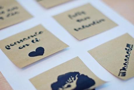 Printables. Valentine's post it