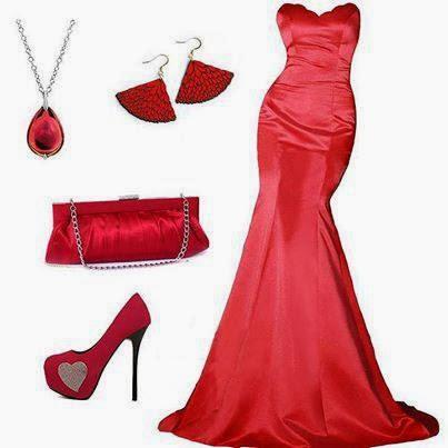Tendencia en Rojo Faldas