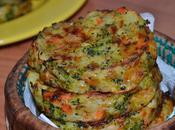 Medallones verdura. Grönsakskaka