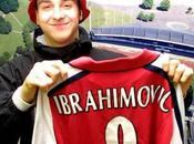Zlatan Ibrahimovic casi jugador Arsenal