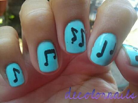 Abc De Las Uñas Notas Musicales Paperblog