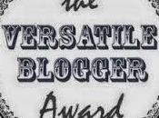 Nominaciones Versatile Blogger Award