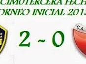 Boca Juniors:2 Colón:0 (Fecha 13°)