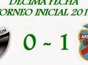 Colón:0 Arsenal:1 (Fecha 10°)