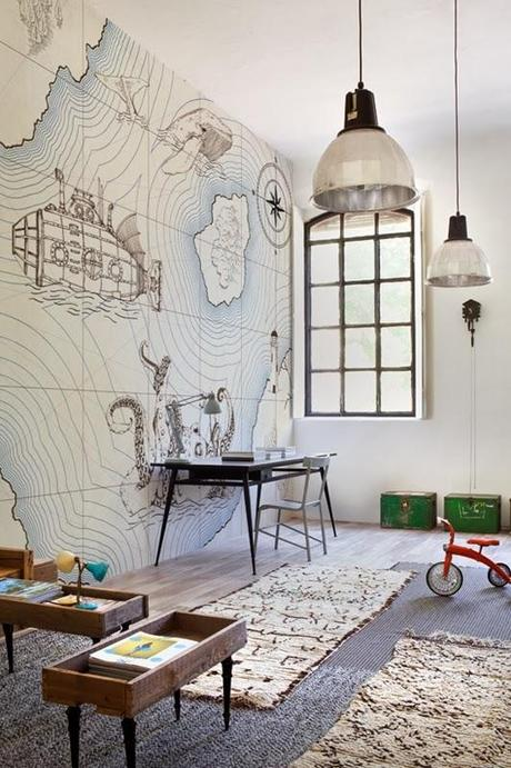 inspiraci n art stica wall deco paperblog. Black Bedroom Furniture Sets. Home Design Ideas