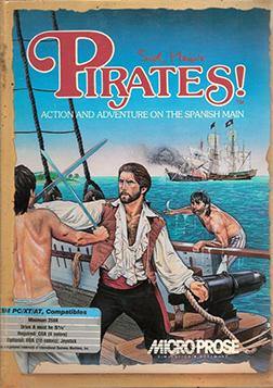 Sid Meiers Pirates 1987 Coverart Una vida corta pero una vida feliz