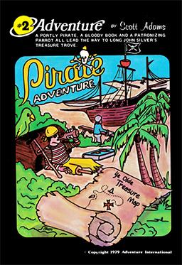 Pirate Adventure Coverart Una vida corta pero una vida feliz
