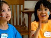 nivel educativo niños asiáticos elevado