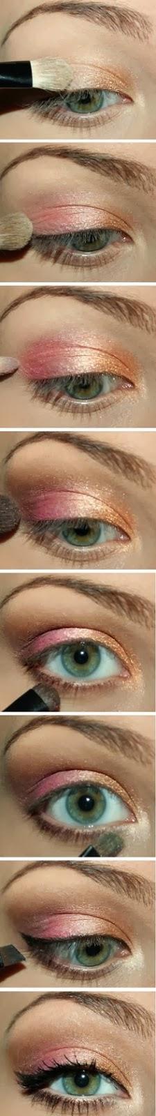 C mo maquillarse los ojos paso a paso fotos paperblog - Como maquillarse paso a paso ...