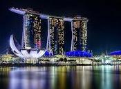 week later: Singapur.