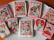 Galletas papel azúcar piruletas chocotransfer para Valentín