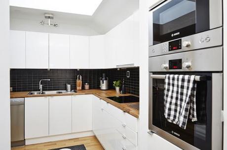 Encimeras de cocina de madera cuidados mentiras y for Cocinas modernas blancas y madera