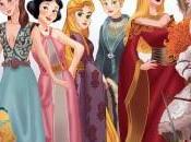 Princesas Disney convierten personajes 'Game Thrones'.