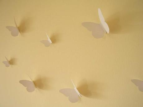 Mariposas pared