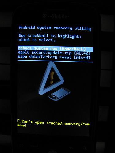 Modo Recovery y Download en dispositivos Android