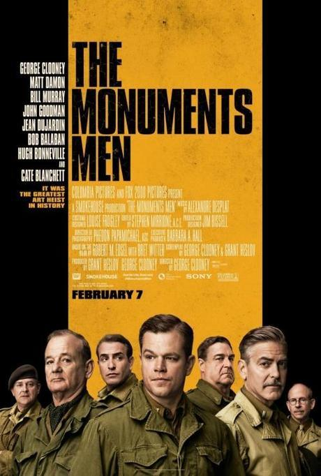 Monuments Men poster George Clooney