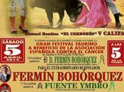 Presentado cartel festival beneficio aecc córdoba