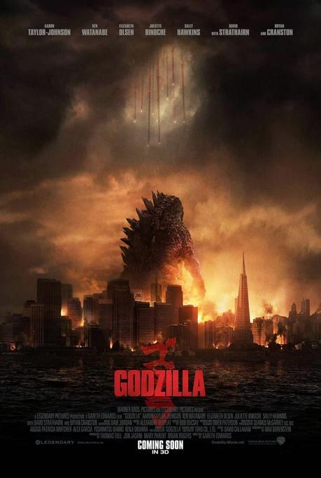 Nuevo Poster del Reboot de Godzilla