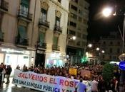 Gran demostración pueblo Cartagena, casi 30.000 personas manifestación ayer