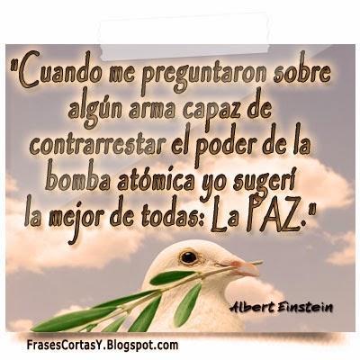 Frases De La Paz Cortas Paperblog