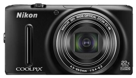 Nikon Coolpix S9500 frontal
