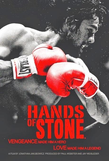 poster hands of stone
