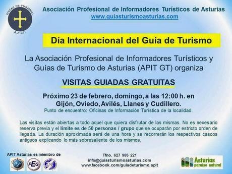 D a internacional del gu a de turismo 2014 paperblog for Oficina de turismo oviedo