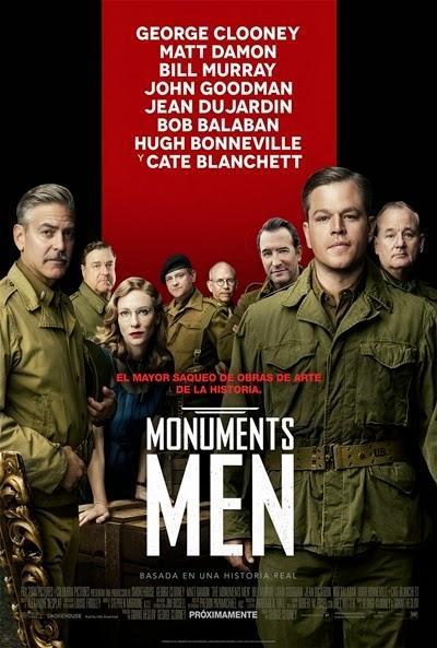 Póster: Monuments Men (2014)