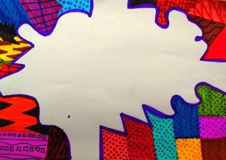 Creo dise os con figuras org nicas y geom tricas primera for Caratulas de artes plasticas para secundaria