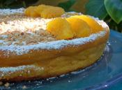Pastel libanés almendras naranja