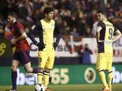 Atlético Madrid desmorona Pamplona
