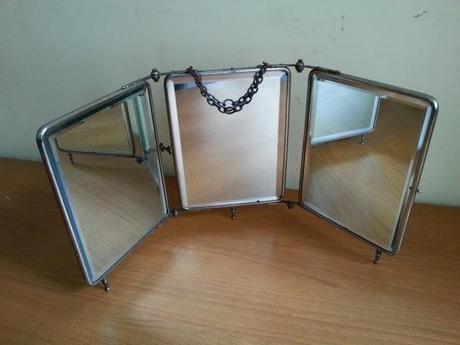 Decoraci n vintage con espejos de viaje paperblog for Espejo unidireccional psicologia