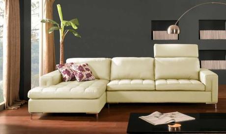 Muebles de cuero en la sala   paperblog