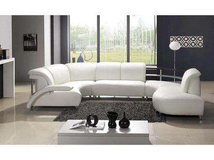 Muebles de cuero en la sala paperblog for Muebles de sala de cuero