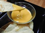 Falsa salsa queso para nachos