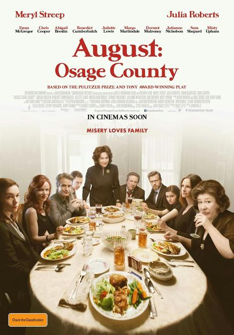 Agosto (August Osage County). Disputas familiares